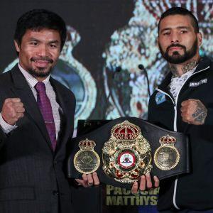 Manny Pacquiao ja Lucas Matthyssen