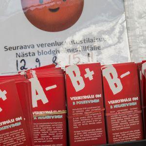 Verenluovutusilmoitus