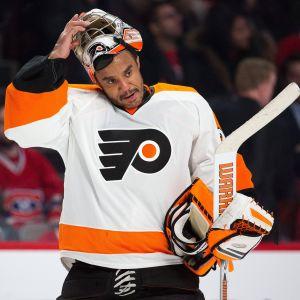 Ray Emery pelasi vuonna 2015 Philadelphia Flyersissa