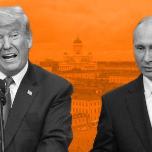 17.7.2018 Trump - Putin kokous extra-podcast pääkuva