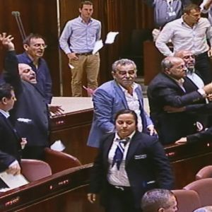 israelin parlamentti