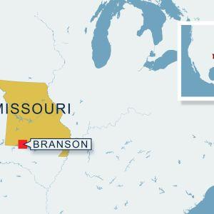 Missourin kartta