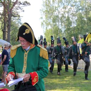 Telakanavalla muisteltiin Keisari Aleksanteri I:n vierailu Telakanavalla reilut 200 vuotta sitten.