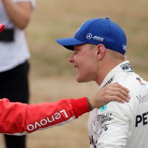 Sebastian Vettel, Valtteri Bottas.