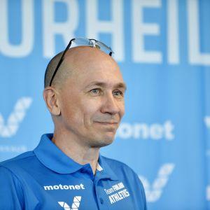 SUL:n valmennusjohtaja Jorma Kemppainen vuonna 2018