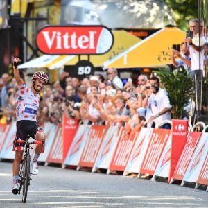 Julian Alaphilippe Ranskan ympäriajo pyöräily