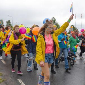 BorderPride Torniossa ja Haaparannalla vuonna 2017.