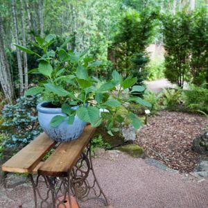 Eija´s Garden Singer-pöytä, Ahvenkoski, Loviisa