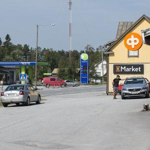 Lillbyn kylä Pedersöressä.