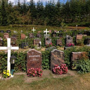 Kotkan Vanha hautausmaa.