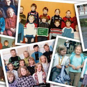Koulu eri vuosikymmeninä