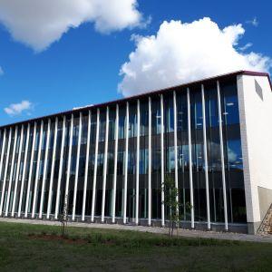 Seinäjoen kampustalon uudisrakennus valmistui kesällä 2018.