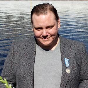 Heinäveteläinen Juho Vänttinen sai hengenpelastusmitalin.