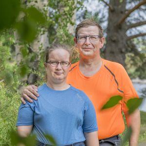 Sari ja Antti Hämäläinen Viitasaarelta