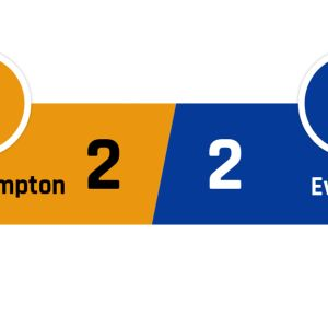 Wolverhampton - Everton 2-2