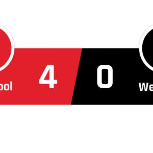 Liverpool - West Ham 4-0