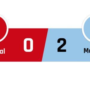 Arsenal - Man City 0-2