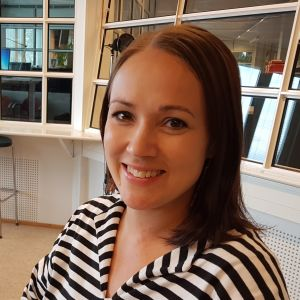 Rovaniemen kaupunginhallituksen puheenjohtaja Liisa Ansala (kesk.).