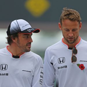 Fernando Alonso ja Jenson Button