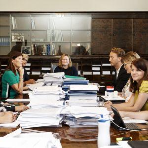 Sosiaali- ja terveysvaliokunta koolla Helsingissä 20. elokuuta.