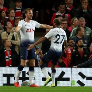 Harry Kane ja Lucas Moura - Tottenhamin sankariduo