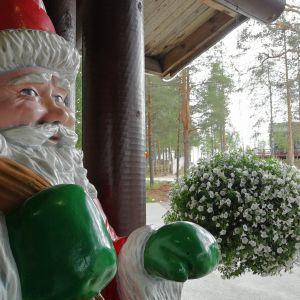 Napapiiri pajakylä Rovaniemi kesämatkailu joulupukki