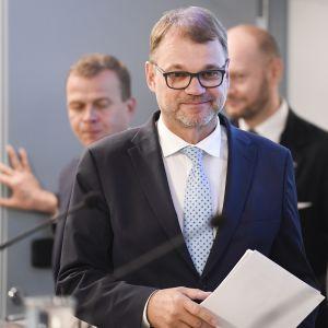 Valtion vuoden 2019 talousarvioesityksen tiedotustilaisuus 29. elokuuta.