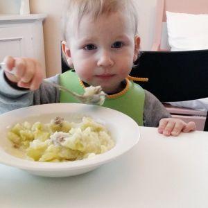 Oliver Ristimäelle sopii allergioiden vuoksi vain parisenkymmentä ruoka-ainetta.