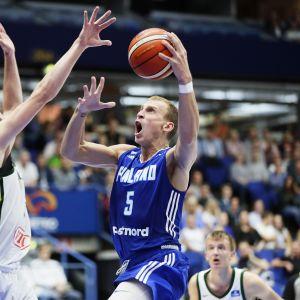 Ny basketforlust mot finland