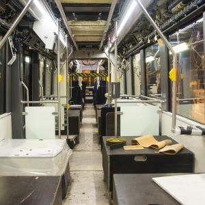Transtechin Raitiovaunun valmistus