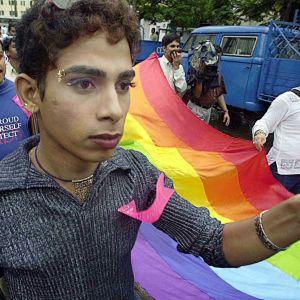 Homoseksuaalien mielenosoitus Kalkutassa