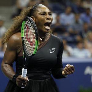 Serena straffad for utbrott