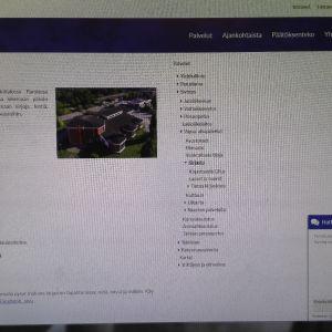 Hattulan kunnan kirjaston nettisivu