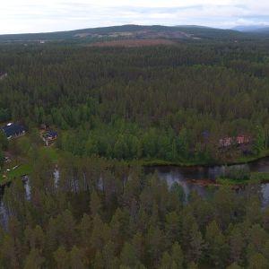 Äkäsjoki ja Hannukaisen kaivosaluetta