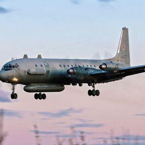 Venäläinen IL-20 -kone, kuvauspäivämäärä ja -paikka tuntematon.