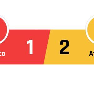 Monaco - Atlético 1-2