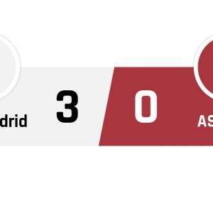 Real Madrid - AS Roma 3-0