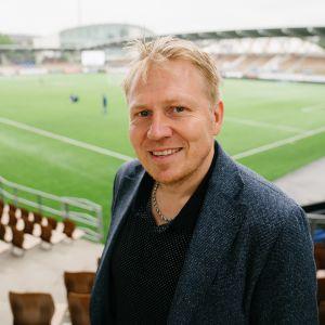 Helsingin Jalkapalloklubin toimitusjohtaja Aki Riihilahti.