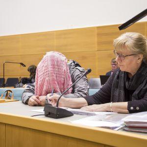 Syytetty Keski-Suomen käräjäoikeudessa.