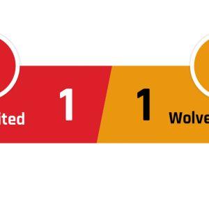 Manchester United - Wolverhampton 1-1
