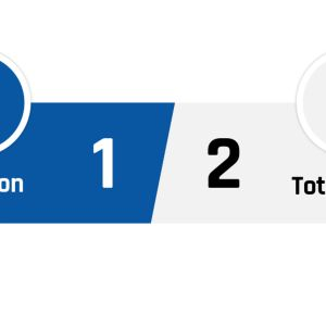 Brighton - Tottenham 1-2