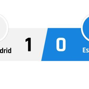 Real Madrid - Espanyol 1-0