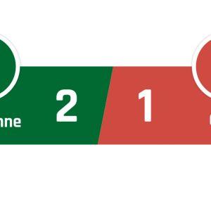 St Étienne - Caen 2-1
