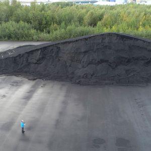 Kivihiilikasa Oulun Vihreäsaaressa
