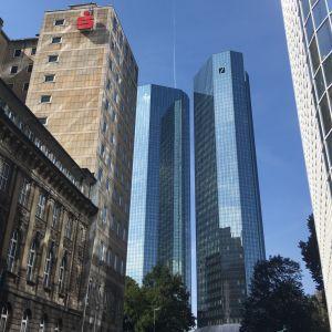 Deutsche Bankin pääkonttori Frankfurtissa