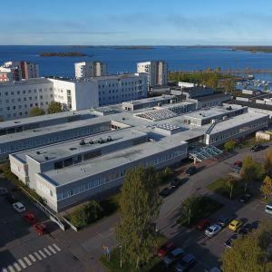 Länsi-pohjan keskussairaala ilmasta