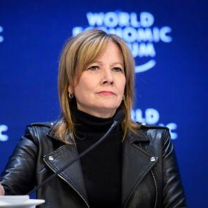 Yksi harvoista. Mary Barra on autojätti General Motorsin toimitusjohtaja.
