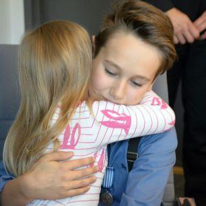 Matias Latvala sai halauksen pelastamaltaan tytöltä