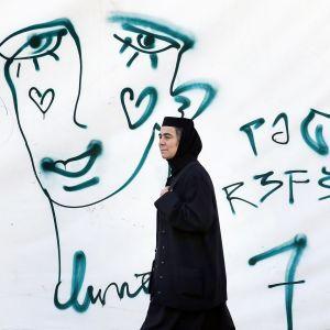 Aloitetta vastustava graffiti Bukarestissa
