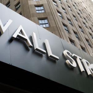 New Yorkin pörssi Wall Street